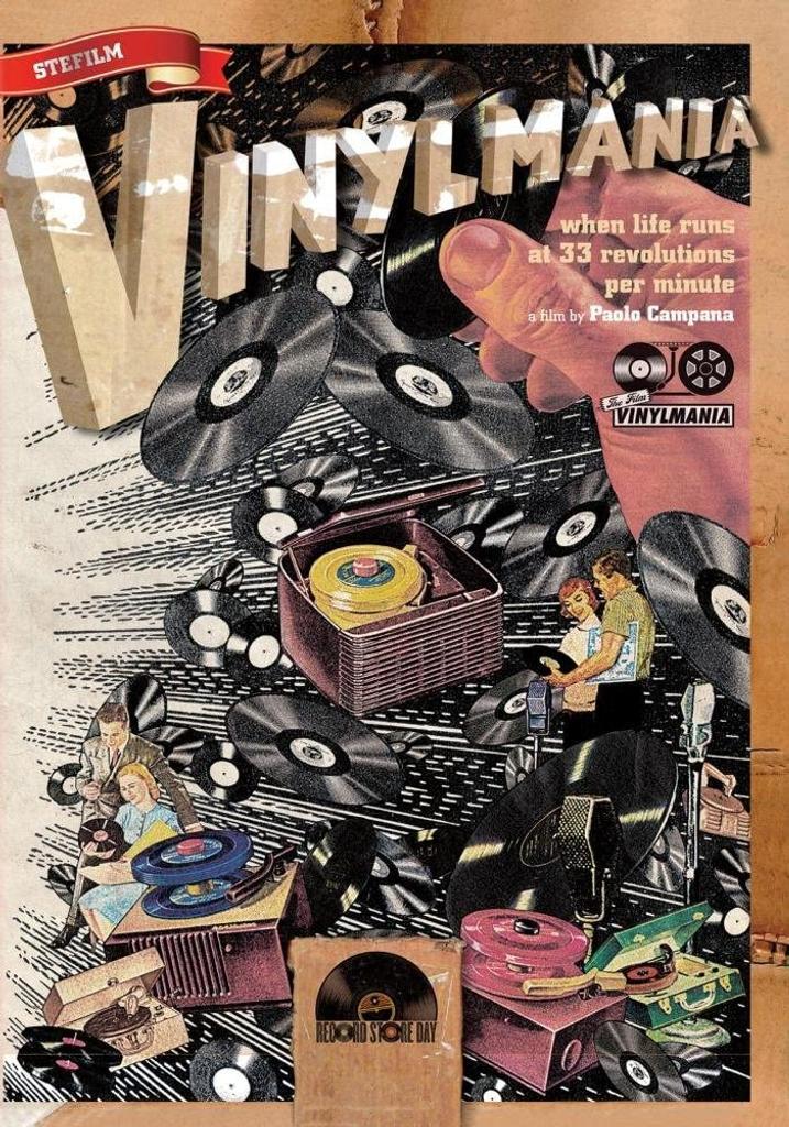 Vinylmania / Paolo Campana, réalisateur  