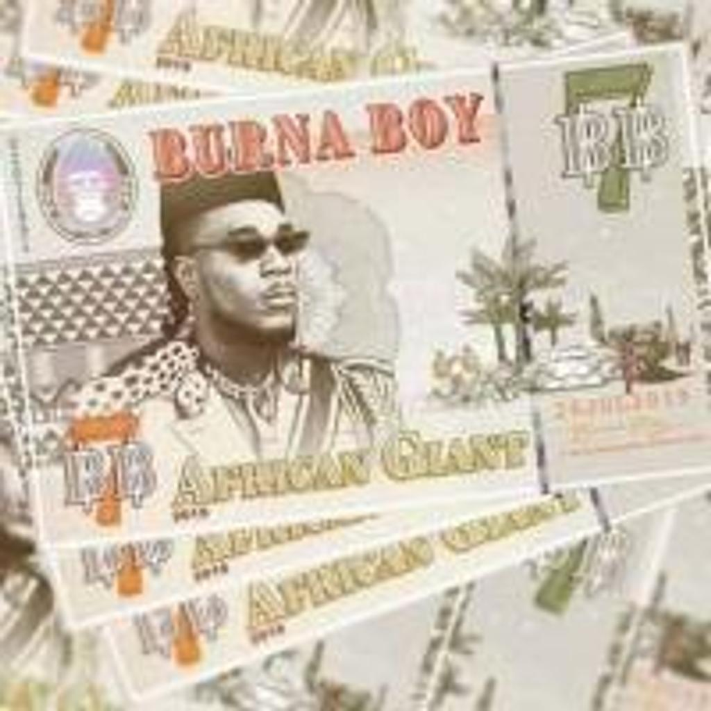 African giant / Burna Boy |